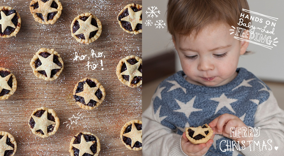 Baby Mince Pies – Refined Sugar Free Baby Led Feeding.