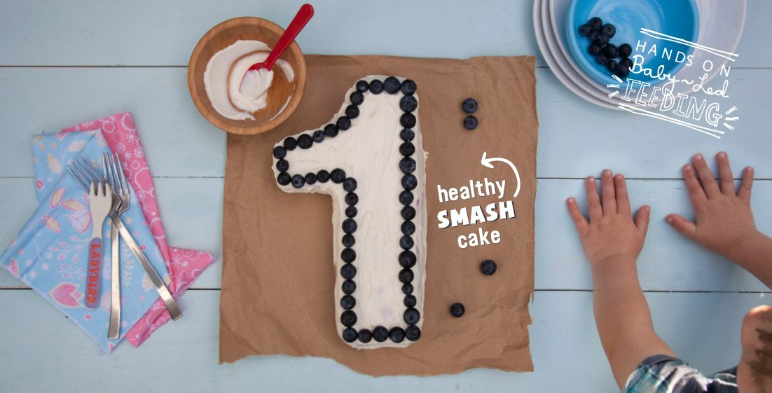 Healthy Smash Cake Baby Led Feeding. Home page banner. Food styling and food photography Aileen Cox Blundell Healthy Homemade Baby Food Recipes.