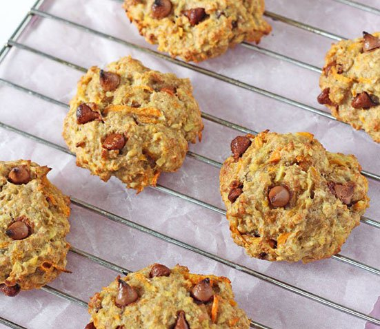 Carrot and Apple Cookies 15 Delicious breakfasts for baby led weaning babies.