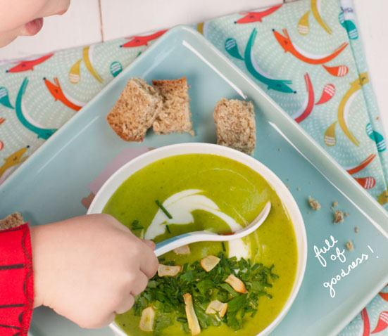 Kale Soup for little babies. Homemade Baby Finger Food Recipes and Ideas for giving Your Baby Nutritious Finger Foods. These delicious finger food recipe are easy to make and are soft for little hands.