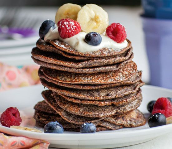Quinoa Flourless Pancakes Baby Led Feeding. Homemade Baby Finger Food Recipes and Ideas for giving Your Baby Nutritious Finger Foods.