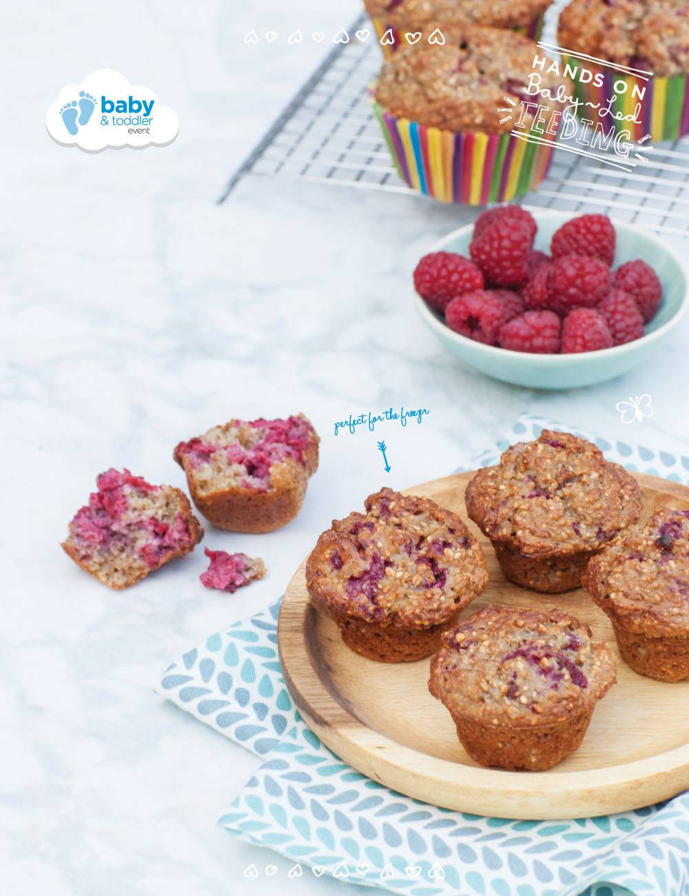Healthy Breakfast Muffins Baby Led Feeding Baby Led Feeding