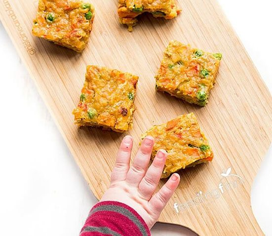 Curried Lentil Bake Healthy Little Foodies. Homemade Baby Finger Food Recipes and Ideas for giving Your Baby Nutritious Finger Foods. These delicious finger food recipe are easy to make and are soft for little hands. Homemade recipe for babies and toddlers from Aileen Cox Blundell from The Baby Led Feeding Cookbook.