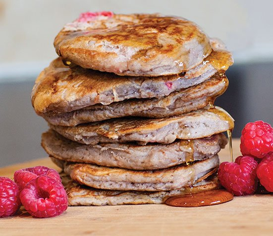 Healthy Buckwheat Pancakes from My Kids Lick the Bowl. Homemade Baby Finger Food Recipes and Ideas for giving Your Baby Nutritious Finger Foods. These delicious finger food recipe are easy to make and are soft for little hands.