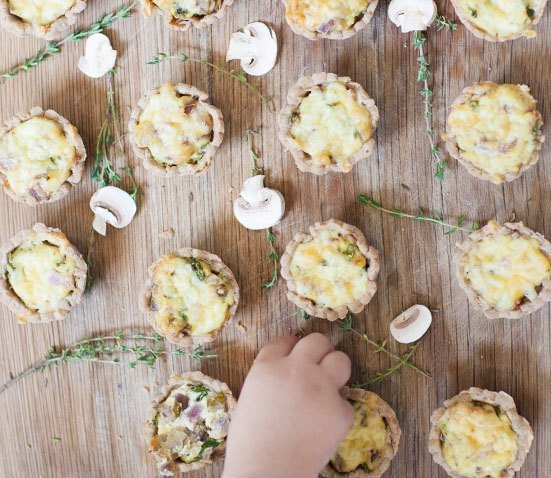 Vegan Quiche Egg free quiche from Baby Led Feeding. Homemade Baby Finger Food Recipes and Ideas for giving Your Baby Nutritious Finger Foods. These delicious finger food recipe are easy to make and are soft for little hands. Homemade recipe for babies and toddlers from Aileen Cox Blundell from The Baby Led Feeding Cookbook.