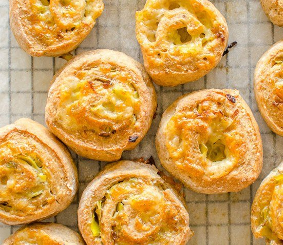 Wholemeal yoghurt dough scrolls cheese and leek from My Kids Lick the Bowl. Homemade Baby Finger Food Recipes and Ideas for giving Your Baby Nutritious Finger Foods. These delicious finger food recipe are easy to make and are soft for little hands.