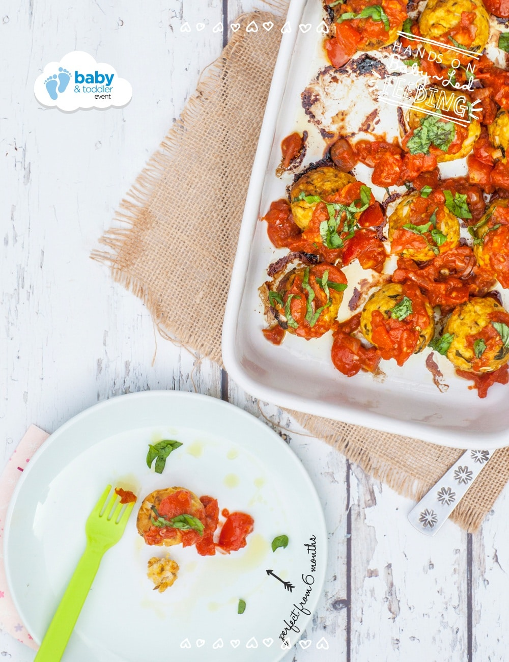 Moroccan Turkey Meatballs. Recipe image for recipe. Homemade Baby Food Recipes perfect for little hands. Delicious baby weaning recipe from Aileen Cox Blundell author of The Baby Led Feeding Cookbook.