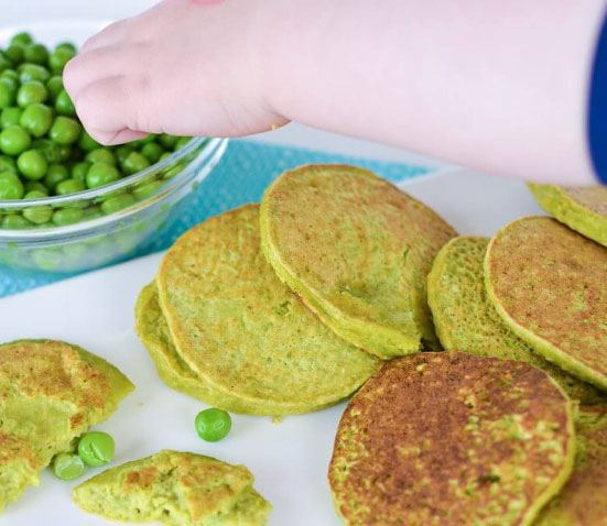 10 Healthy Halloween Foods to make right now! Baby and Toddler Finger Foods Pea Pancakes from My Kids Lick the Bowl. Homemade Baby Finger Food Recipes and Ideas for giving Your Baby Nutritious Finger Foods for the halloween season. These delicious halloween finger food recipe are easy to make and are soft for little hands.
