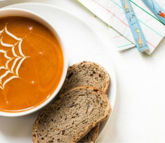 10 Healthy Halloween Foods to make right now! Baby and Toddler Finger Foods Healthy Little Foodies Tomato Soup for Kids. Homemade Baby Finger Food Recipes and Ideas for giving Your Baby Nutritious Finger Foods for the halloween season. These delicious halloween finger food recipe are easy to make and are soft for little hands.