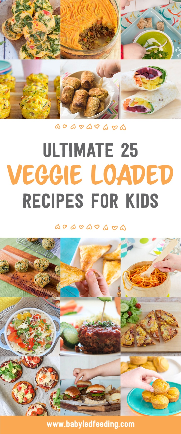 Ultimate list of easy vegetable loaded recipe for picky toddlers and babies. These hidden veggie recipe are kid friendly, low salt, and low butter/ no butter. Add these yummy recipe to your family meal planning! #veggierecipe #pickytoddler #pickyeater #fingerfood #familymeals