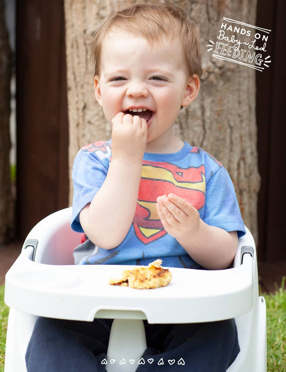 Recipe Image Yummy baby led weaning fish cakes. This finger food for babies is a great way of getting your baby to eat fish!