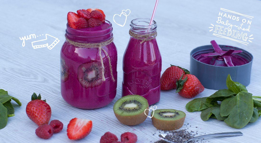 Iron for Babies: Very Berry and Beetroot Super Smoothie