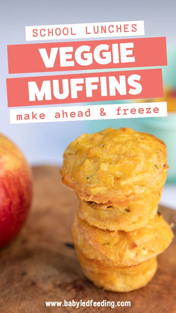Baby Led weaning muffins Veggie and Fruit Muffins