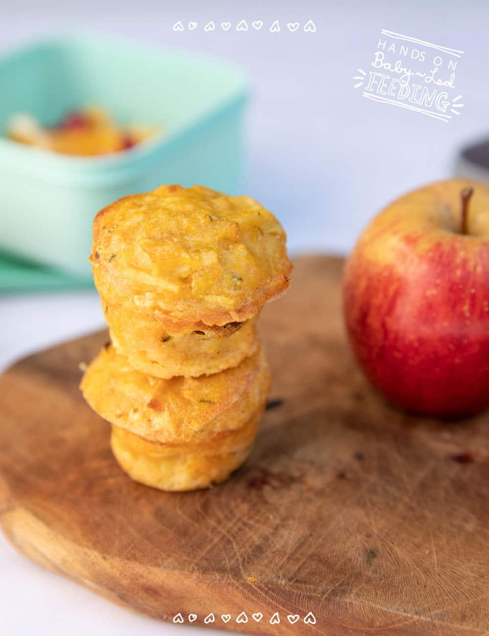 Baby Led weaning muffins Veggie and Fruit Muffins Recipe