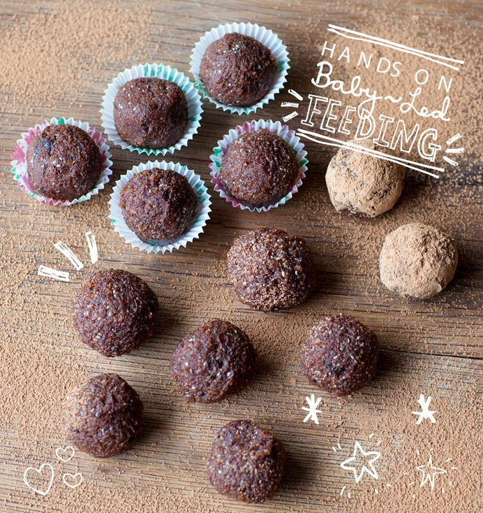Chi Flax Balls Finger Food