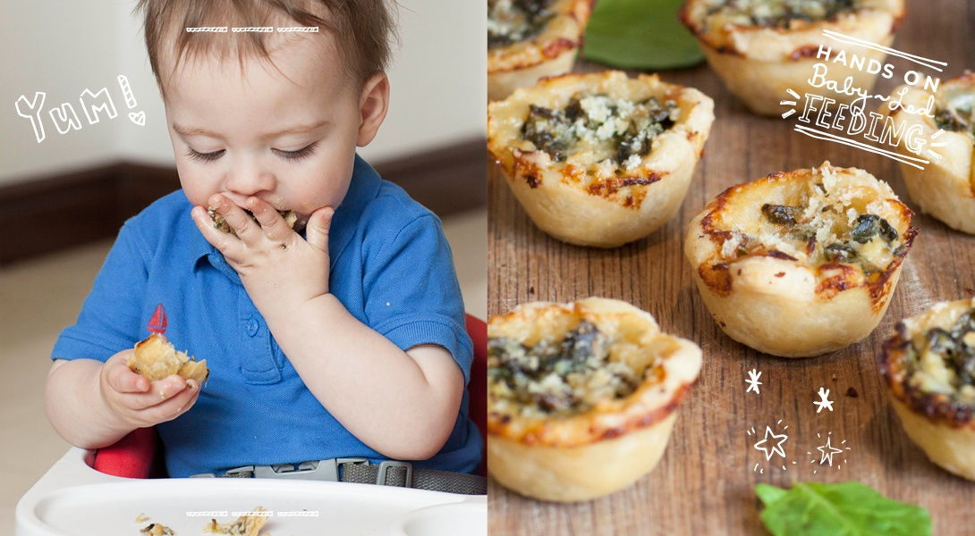 Baby-Led-Feeding-Spinach-and-Cream-Baby-Pies2