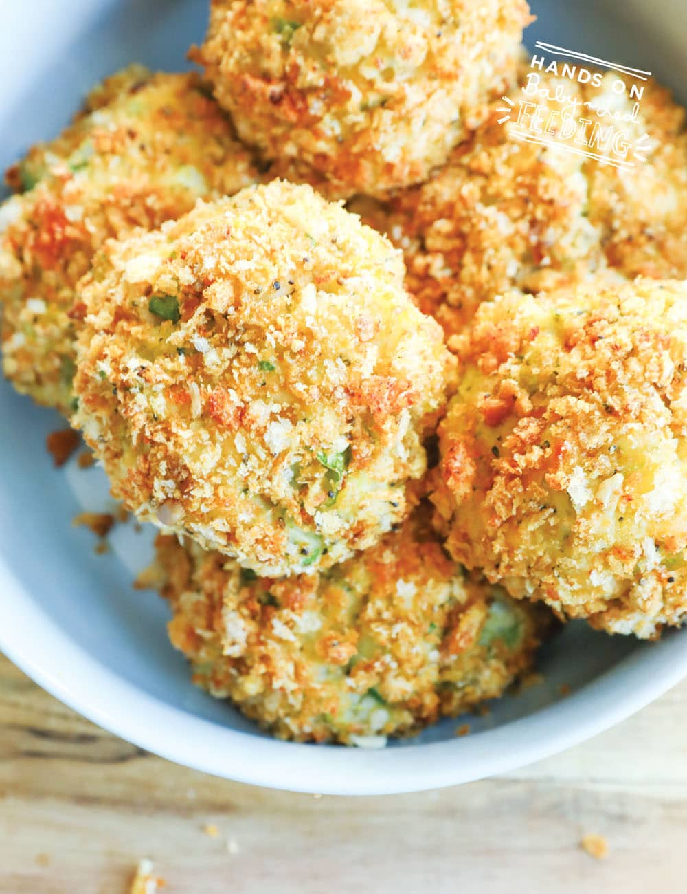 Turkey, Potato, & Veggie Bites are an easy leftover recipe or wholesome appetizer recipe for the holidays. This little finger food recipe is packed with nutrition like vitamin K and uses easy to find ingredients like broccoli, mashed potatoes, and leftover turkey! #leftoverrecipe #holidayrecipe #appetizer #fingerfood #babyledweaning #babyledfeeding #toddler