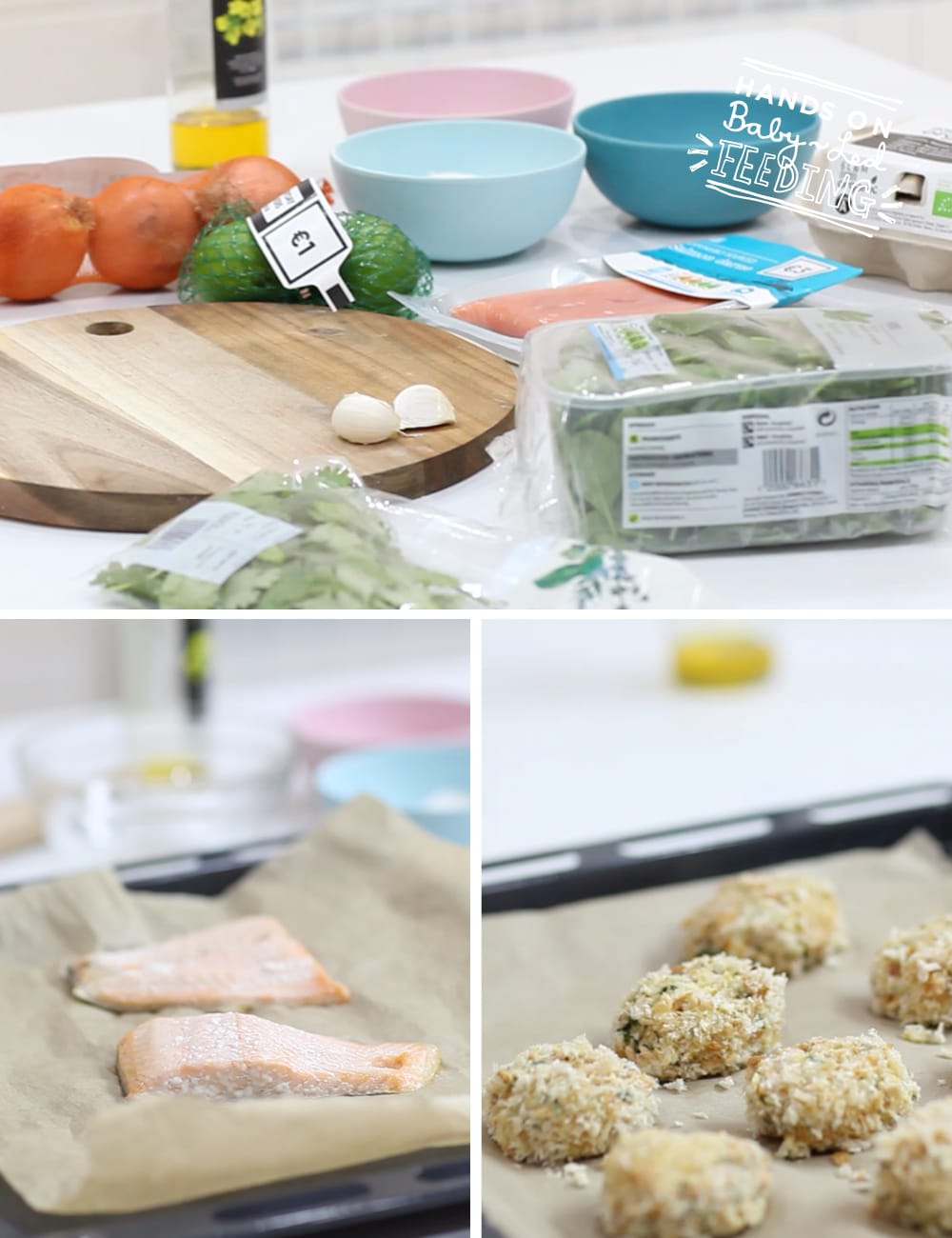Baby Led Feeding Salmon Nuggets for baby led weaning Recipe image Dunnes Stores Everyday Savers image