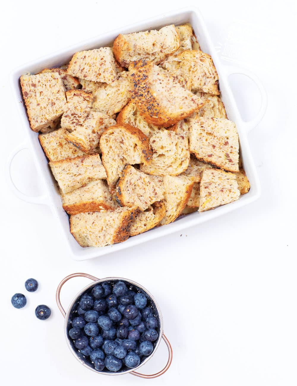 Baby Led Feeding Overnight Blueberry French Toast Recipe Images3