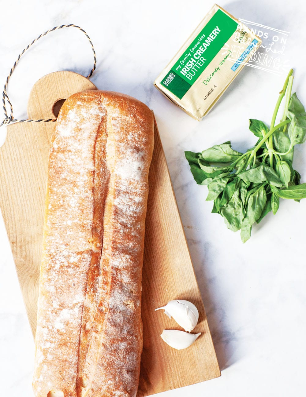 Garlic bread makes a delicious side to this dish!
