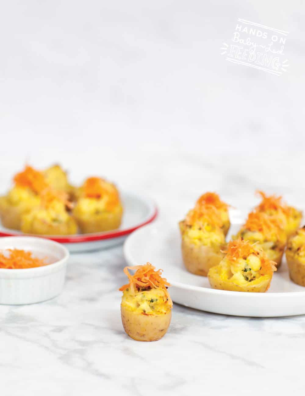 The cutest recipe for colcannon you've ever made! Mini colcannon bites made with baby potatoes and traditional Irish colcannon ingredients but with a healthy twist. Finger foods make the best St. Patrick's Day recipe! This recipe is created by an Irish mum living in Dublin. #irishrecipe #stpatricksdayrecipe #stpatricksday #colcannon #babyledweaning #babyledfeeding #partyfood #appetizers