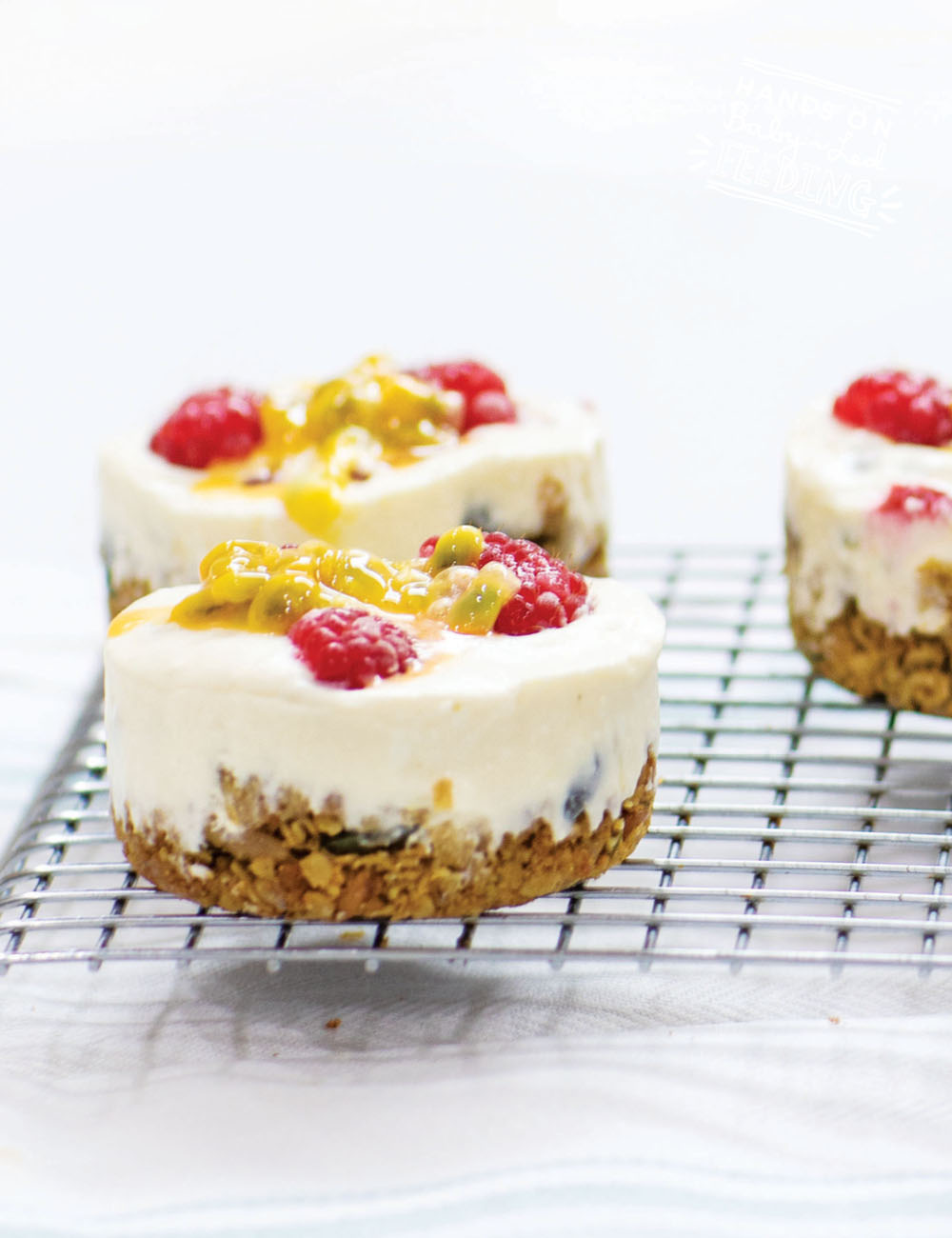 Healthy Passionfruit Cheesecake Recipe Images