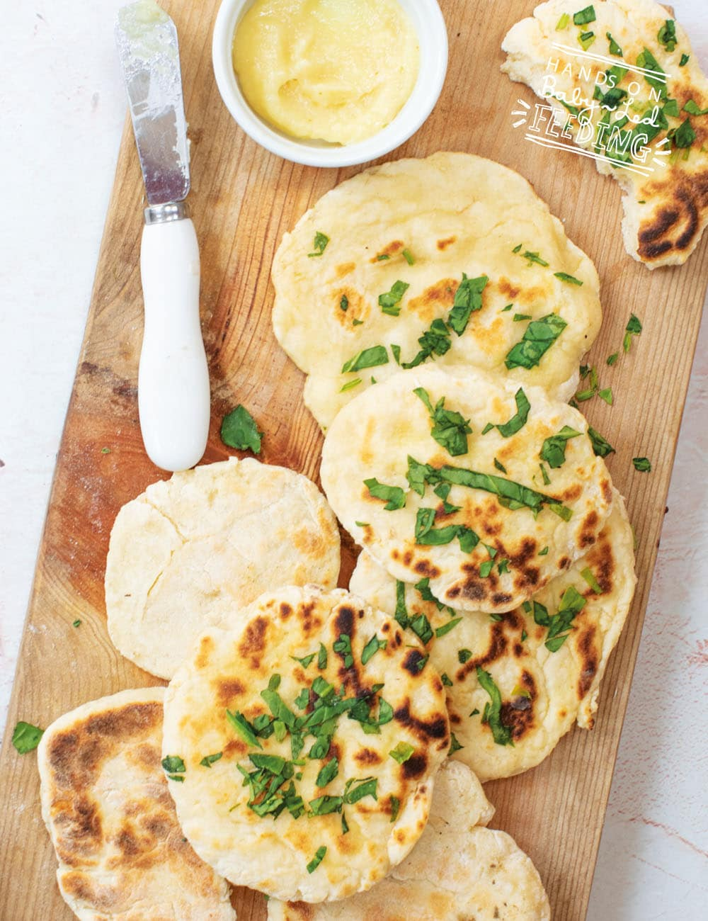 Baby Led Feeding 2 Ingredient Naan Breads Recipe Images2