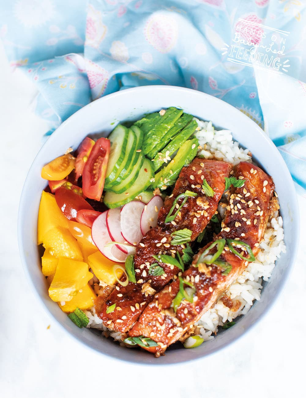 This one of the best salmon recipe I have ever made and a great salmon recipe for smaller babies too! SUPER nutritious, easy to make & filled with summer! Recipe Image