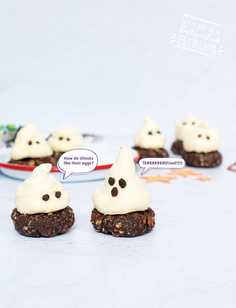 Healthy Ghost Cookies Recipes